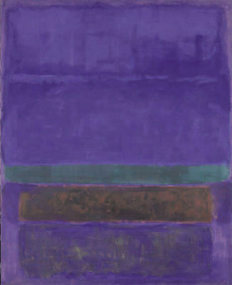 Mark Rothko : Blue green and brown 1959