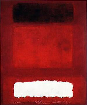Mark Rothko : Red, white and brown