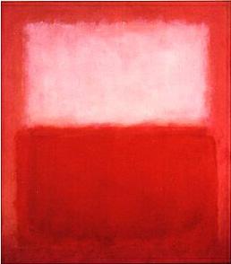 Rothko : White over Red